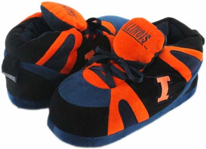 Illinois UNISEX High-Top Slippers