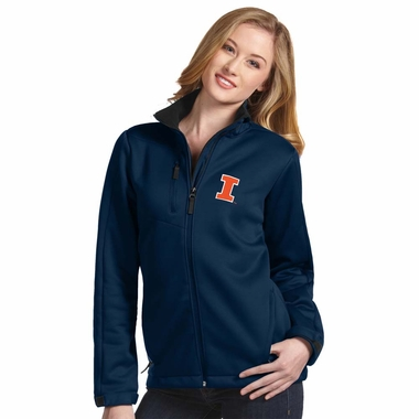 Illinois Womens Traverse Jacket (Team Color: Navy)