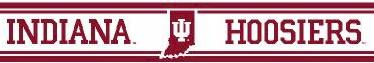 Indiana 5.5 Inch (Height) Wallpaper Border