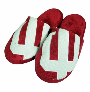 Indiana Big Logo Hard Sole Slippers