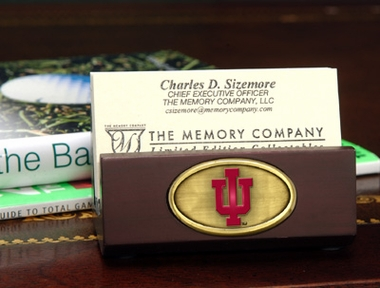 Indiana Business Card Holder