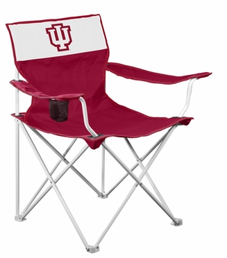 Indiana Canvas Adult Folding Logo Chair
