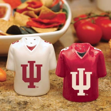 Indiana Ceramic Jersey Salt and Pepper Shakers