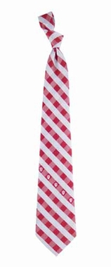 Indiana Check Poly Necktie