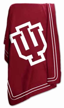 Indiana Classic Fleece Throw Blanket