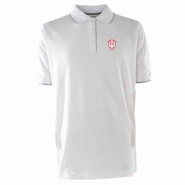 Indiana Mens Elite Polo Shirt (Color: White)