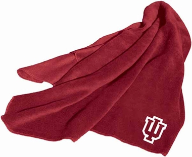 Indiana Fleece Throw Blanket