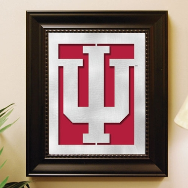 Indiana Framed Laser Cut Metal Wall Art