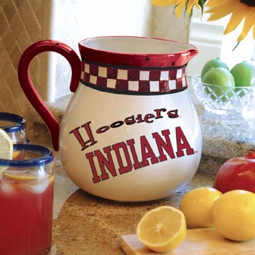 Indiana Gameday Ceramic Pitcher