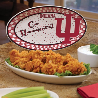 Indiana Gameday Ceramic Platter