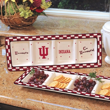 Indiana Gameday Relish Tray