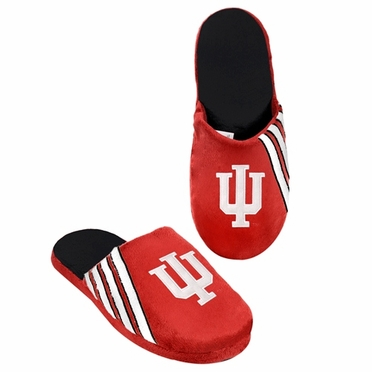 Indiana Hoosiers 2012 Team Stripe Logo Slippers