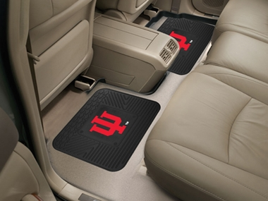 Indiana SET OF 2 Heavy Duty Vinyl Rear Car Mats