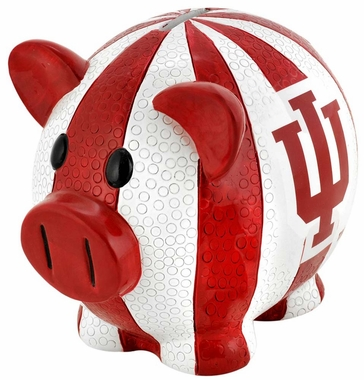 Indiana Hoosiers Piggy Bank - Thematic Large