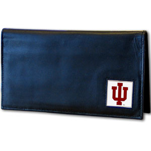 Indiana Leather Checkbook Cover (F)