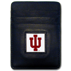 Indiana Leather Money Clip
