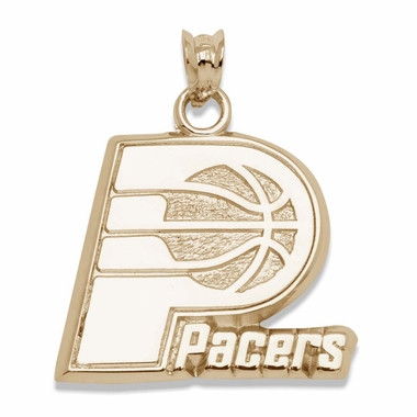 Indiana Pacers 14K Gold Pendant