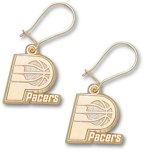 Indiana Pacers 14K Gold Post or Dangle Earrings