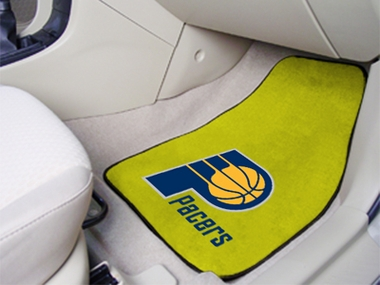 Indiana Pacers 2 Piece Car Mats