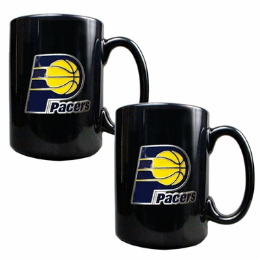 Indiana Pacers 2 Piece Coffee Mug Set
