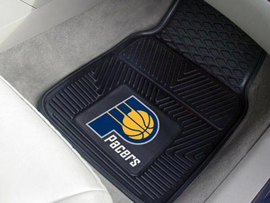 Indiana Pacers 2 Piece Heavy Duty Vinyl Car Mats