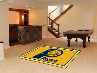 Indiana Pacers 5 Foot x 8 Foot Rug