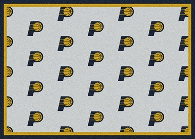 "Indiana Pacers 7'8 x 10'9"" Premium Pattern Rug"