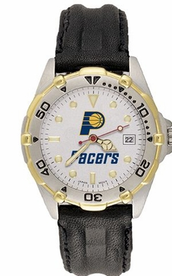 Indiana Pacers All Star Mens (Leather Band) Watch