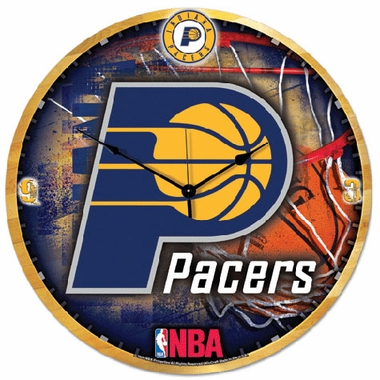 Indiana Pacers Big 18 Inch Hi Definition Clock