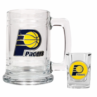 Indiana Pacers Boilermaker Set