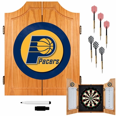 Indiana Pacers Complete Dart Cabinet