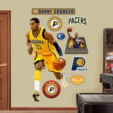 Indiana Pacers Danny Granger Most Improved Fathead Wall Graphic
