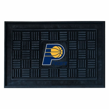 Indiana Pacers Heavy Duty Vinyl Doormat