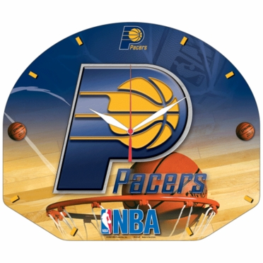 Indiana Pacers High Definition Wall Clock