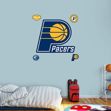 Indiana Pacers Logo Fathead Wall Graphic