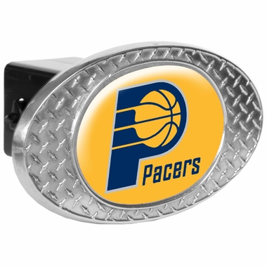 Indiana Pacers Metal Diamond Plate Trailer Hitch Cover