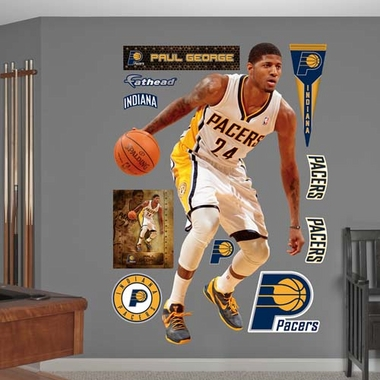 Indiana Pacers Paul George Fathead Wall Graphic