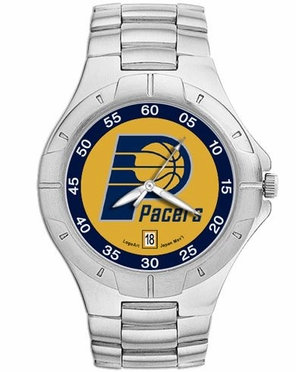 Indiana Pacers Pro II Men's Stainless Steel Watch