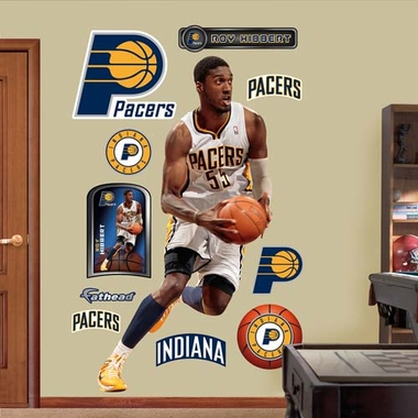 Indiana Pacers Roy Hibbert Fathead Wall Graphic