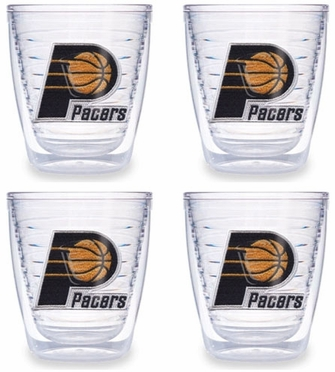 Indiana Pacers Set of FOUR 12 oz. Tervis Tumblers