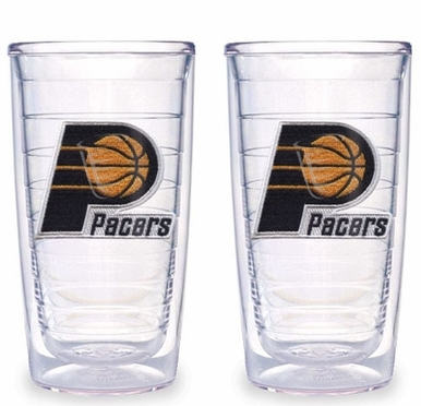 Indiana Pacers Set of TWO 16 oz. Tervis Tumblers