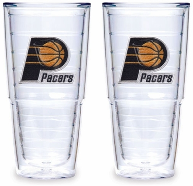 Indiana Pacers Set of TWO 24 oz. Tervis Tumblers