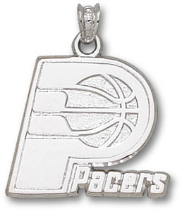 Indiana Pacers Sterling Silver Pendant