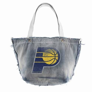 Indiana Pacers Vintage Tote (Denim)