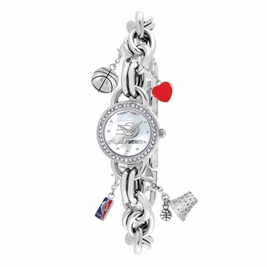 Indiana Pacers Women's Charm Watch