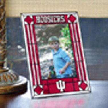 Indiana Portrait Art Glass Picture Frame