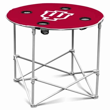 Indiana Round Tailgate Table