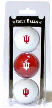 Indiana Set of 3 Multicolor Golf Balls
