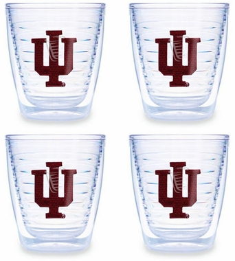Indiana Set of FOUR 12 oz. Tervis Tumblers
