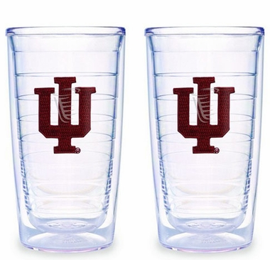 Indiana Set of TWO 16 oz. Tervis Tumblers